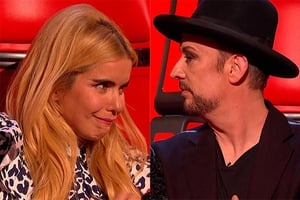 Tensions are high on The Voice on BBC One this Saturday