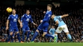 Sergio Aguero heads Manchester City to Cup final