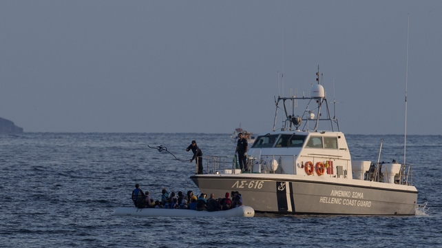 The Greek coast guard is searching for more missing off coast of Samos Tafter island