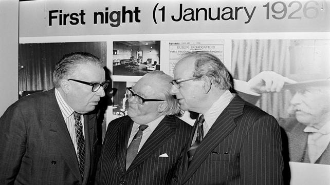 Fifty Years of Irish Radio exhibition launch 1976