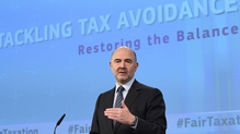 EU tax commissioner Pierre Moscovici calls 'for fair and effective taxation for all Europeans'