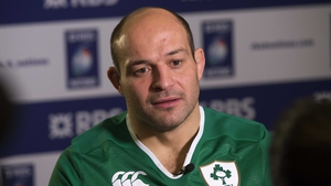 Rory Best did not take part in Ireland training today
