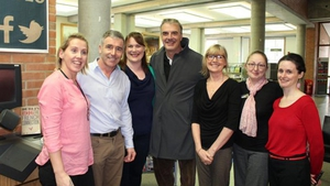 Actor Chris Noth aka Sex and The City's Mr Big at Cavan Library