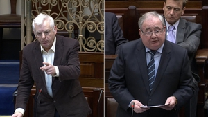 Both deputies were speaking in the Dáil during statements on the banking inquiry