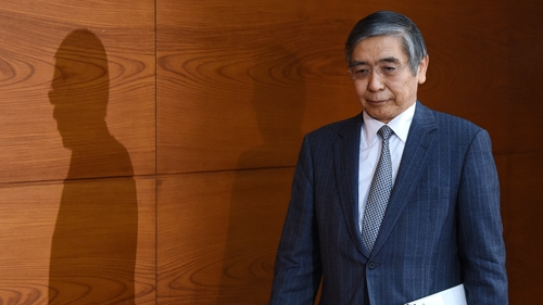 The Bank of Japan's Governor Haruhiko Kuroda took the helm at the central bank in early 2013