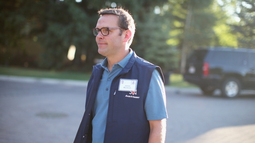 James Murdoch, son of Sky founder Rupert Murdoch, is to take over as chairman of the company