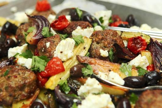 Neven's Recipes - 'One Tray Greek dish'