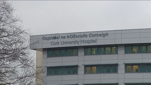 The woman was pronounced dead at the scene and her body was removed to Cork University Hospital