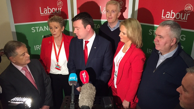 The Labour Party conference is taking place in Mullingar, co Westmeath