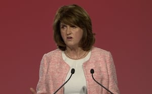 Joan Burton announced the new initiative at the Labour Party National Conference