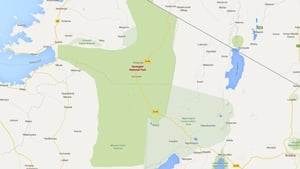 Roger Gower managed to bring the helicopter down in the Maswa Game Reserve, near Serengeti National Park in the north of Tanzania (Pic: Google Maps)
