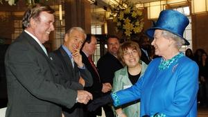 Wogan meeting Queen Elizabeth
