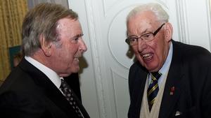 Wogan with the late Ian Paisley