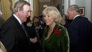 Wogan with Camilla, Duchess of Cornwall