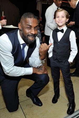Idris Elba and Jacob Tremblay