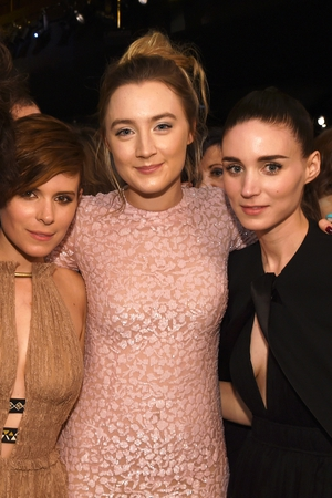 Kate Mara, Saoirse Ronan and Rooney Mara