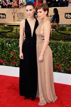 Rooney and Kate Mara