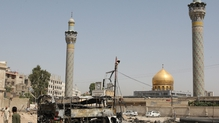The shrine south of the capital contains the grave of a granddaughter of the Prophet Mohammed and is particularly revered as a pilgrimage site by Shia Muslims