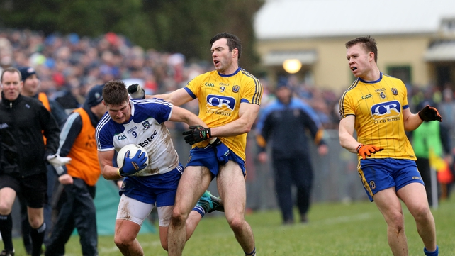 Roscommon were reeled in late on by the Ulster champions