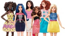 The new Barbie range of dolls