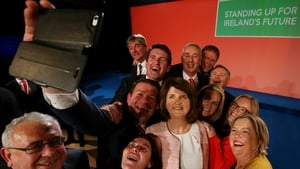 A selfie at the Labour Party conference in Mullingar this weekend