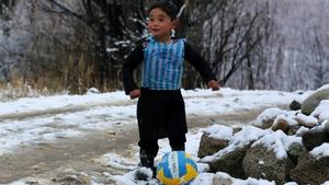 Lionel Messi hopes to meet Murtaza Ahmadi