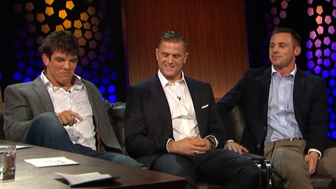 The Late Late Show Extras: Donncha O'Callaghan, Jamie Heaslip & Tommy Bowe (2012)
