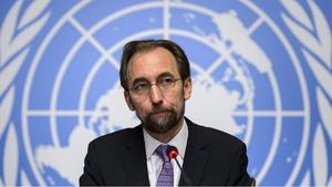 "The UN human rights chief accused the Syrian government of orchestrating an ""apocalypse"""