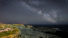 Hook Head Milky Way: Michael Legris took this image from Hook Head peninsula, Co Wexford