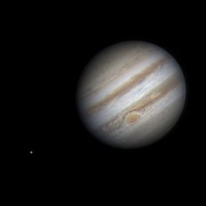 Jupiter: The fifth planet from the Sun and the largest in the solar system. Taken by Aiden Dunne in Co Westmeath