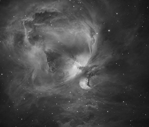 M42 H-alpha: The Orion Nebula taken by Carl O'Beirne in Balbriggan, Co Dublin
