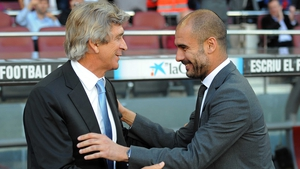 Pep Guardiola will take over from Manuel Pellegrini as City manager in the summer