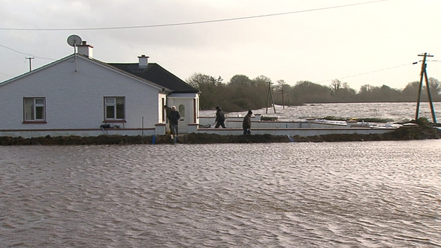 Houses remain at risk of flooding