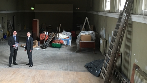 It is due to open at the currently unused Aula Maxima at Newman House