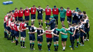 Ireland play Wales in the opening Six Nations game