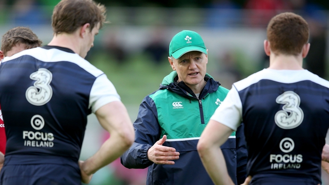 Joe Schmidt has big decisions to make ahead of the trip to London