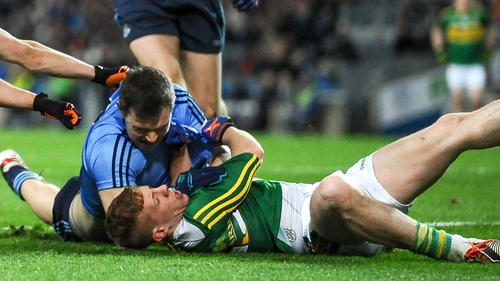 Dean Rock hit seven points against Kerry on Saturday evening