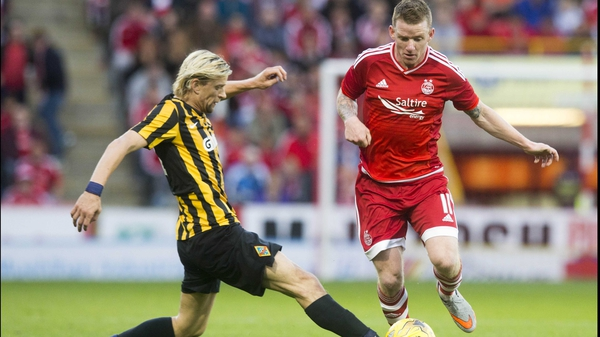 Jonny Hayes was capped three times at Under-21 level by the Republic of Ireland