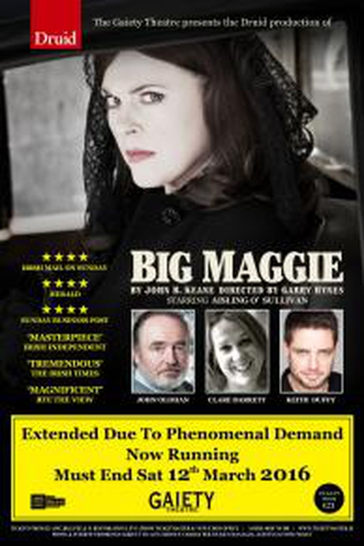 "Review: ""Big Maggie"" at the Gaiety Theatre"