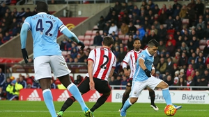 Sergio Aguero scored Manchester City's winner