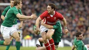 George North starts for Wales against Scotland