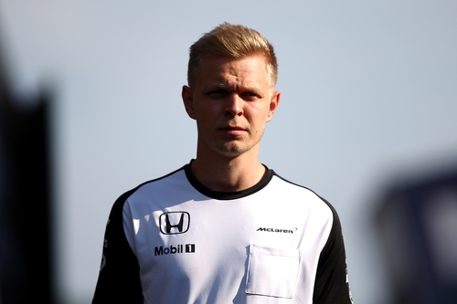 Kevin Magnussen made his Forumula One debut with McLaren in 2014