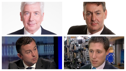 Party representatives debate health, the economy and who will form the next government