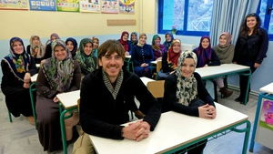 Greek language class for a group of Muslim Women: Greece with Simon Reeve, 8.00pm, BBC 2