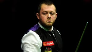 Mark Allen managed a break of 121 before exiting