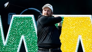 Shane Lowry is in a three-way tie at the top of the leaderboard