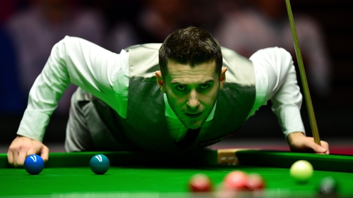 Mark Selby is out of the tournament in Berlin