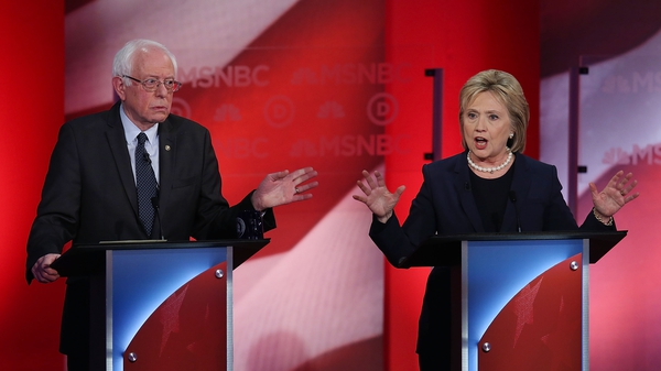 Hillary Clinton accused Bernie Sanders of trying to unfairly discredit her by suggesting she was beholden to powerful donors