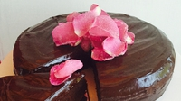 Rich Chocolate Cake: Pre-Lent Treat!