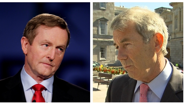 Enda Kenny said Fine Gael would not make a deal with TD Michael Lowry in establishing a government